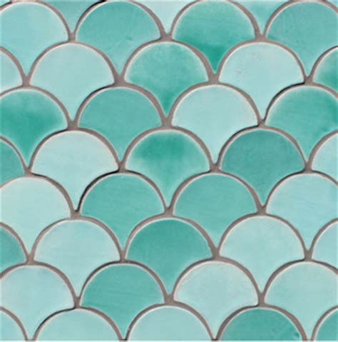 blue scallop tiles emily hendersons renovated master