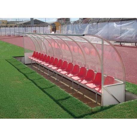 panchina calcio panchina calcio mod curvo alluminio a moduli smontabili