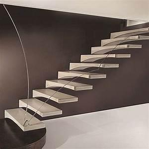 Star Stairs Treppen : die besten 25 freitragende treppe ideen auf pinterest betonstufen steel railing und kabel reling ~ Markanthonyermac.com Haus und Dekorationen