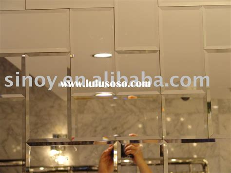Peel And Stick Wall Mirror Tiles