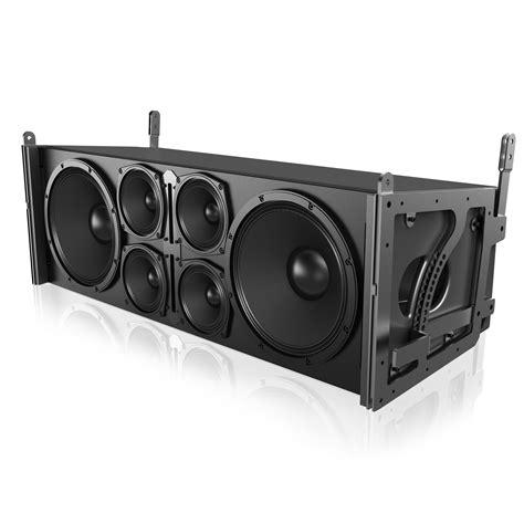 dual 12 quot 3 way 3600 watt powered large format line array loudspeaker atlasied
