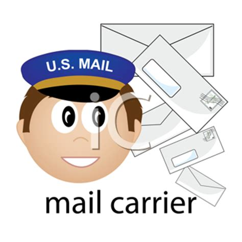 mailman hat clipart royalty free mailman clipart