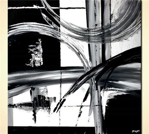 Abstract Painting Black And White by Painting For Sale Black And White Abstract Painting