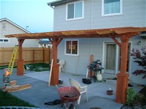wood patio covers raftertales home improvement made easy