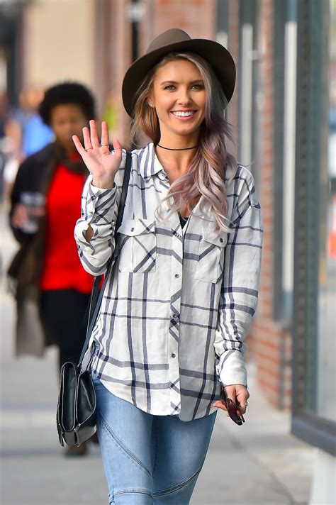 Audrina Patridge Street Style Out Hollywood January
