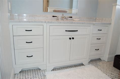 Hand Made Wide Single Bathroom Vanity By John Samuel