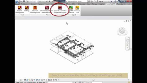creating a electrical single line diagram in revit youtube