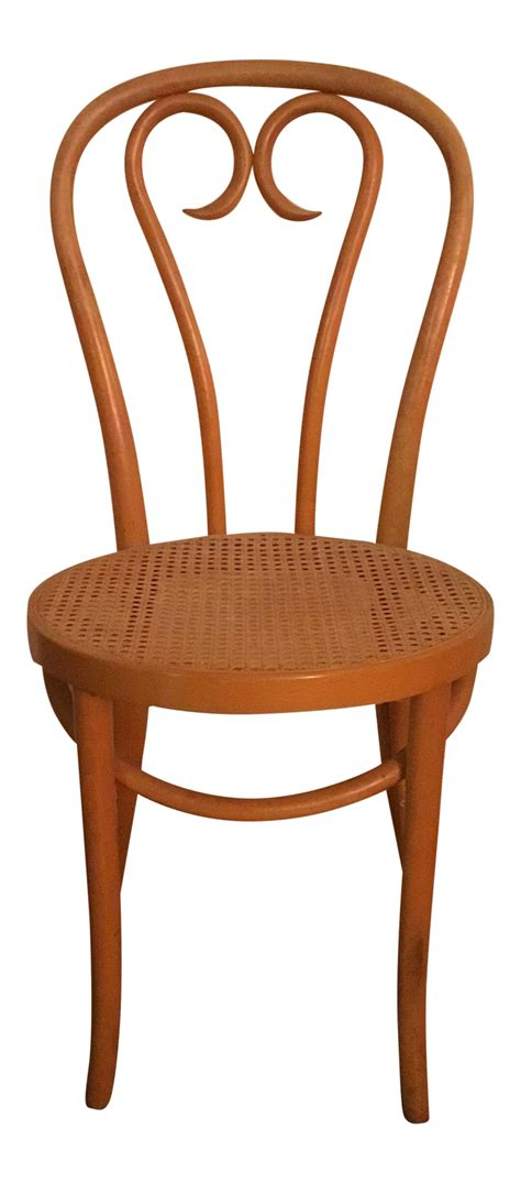 thonet style bentwood cafe chair chairish