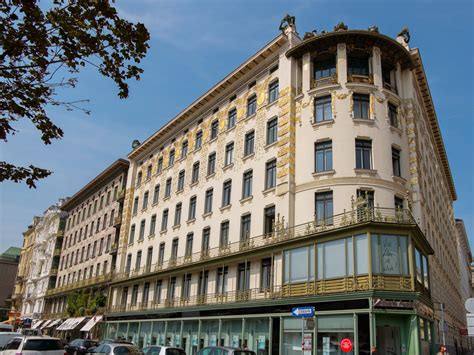 Art Nouveau Buildings In Vienna
