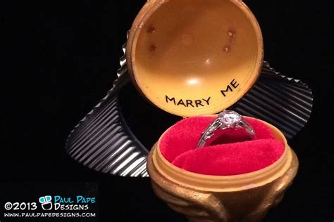 golden snitch engagement ring box more harry potter themed wedding stuff quot wishlist