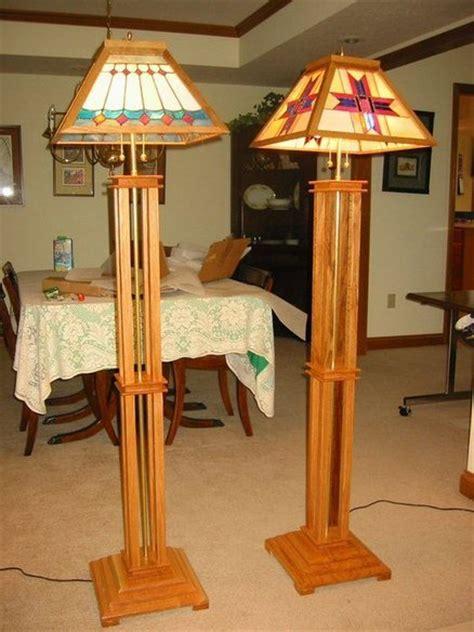 wooden craftsman lamp plans  plans