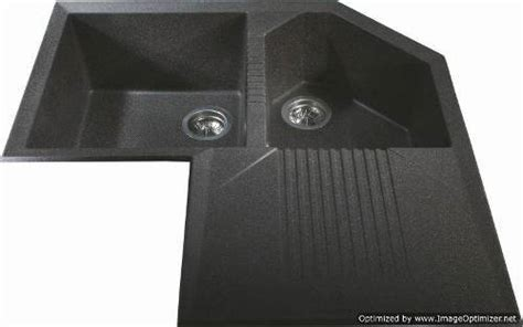 black corner kitchen sink homeoffice dekoration schwarze granit sp 252 le ecke 4662
