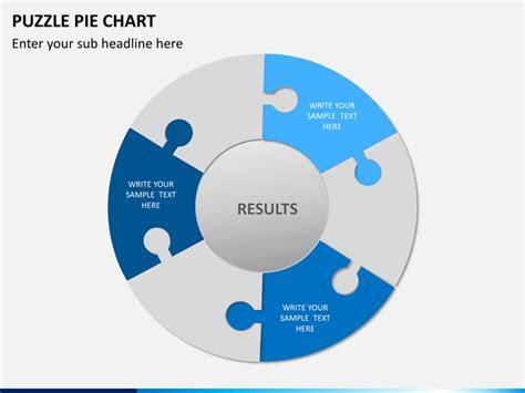 powerpoint puzzle pie chart sketchbubble