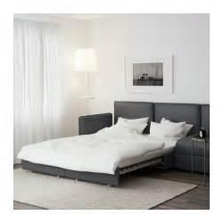 ikea sofa bett vallentuna 4 seat sofa with bed hillared grey ikea