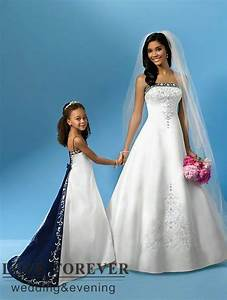 ball gown best selling silver embroidery royal blue and With royal blue and silver wedding dresses