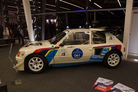 Peugeot 205 T16 Evo 2 - 2017 Retromobile