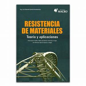 Comprar Libro Resistencia De Materiales  Teor U00eda Y