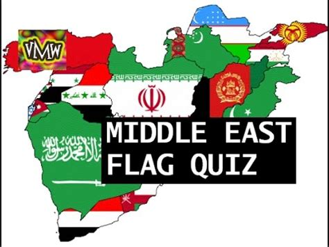 middle east flags quiz youtube