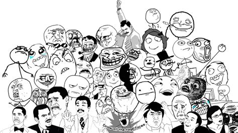 All Meme Faces - rage faces by icemorbid on deviantart