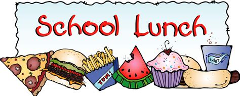 Image result for Clip Art School Meals
