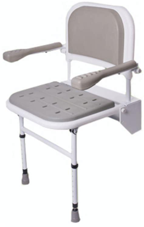 standard padde drop  shower seat seat  arm