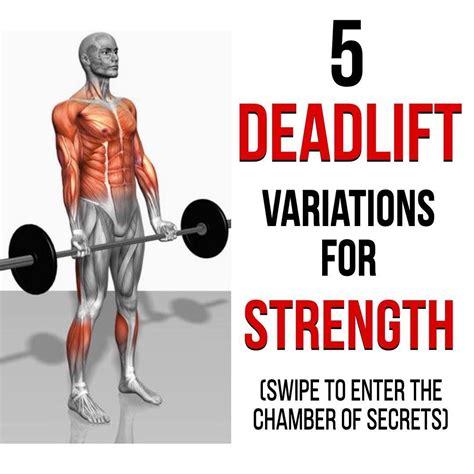deadlift variations kettlebell trap gymguider workouts bar beginners