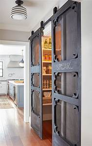 Awesome sliding barn door ideas to include in your home for Kitchen cabinet trends 2018 combined with outdoor wall art metal large