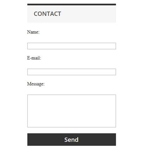 simple contact form simple contact form prestashop addons