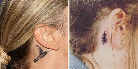 ear tattoos   ear tattoos  women