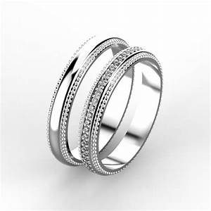 elegant wedding rings 3d print model cgtrader With classy wedding rings