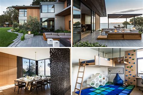 Häuser Park by The Tiburon Bay View House By Walker Warner Architects