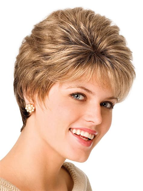 women synthetic hari  lace wigs natural wigs  perm short curly thin bang hairstyle