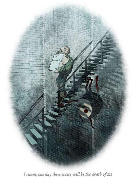 brian coldrick  images horror art creepy art