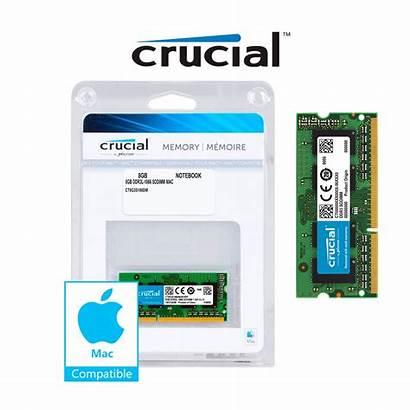 Crucial Memory 8gb Mac Ddr3l Sodimm 1866