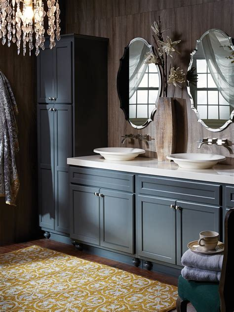 northbrook birch graphite small bathroom cabinets