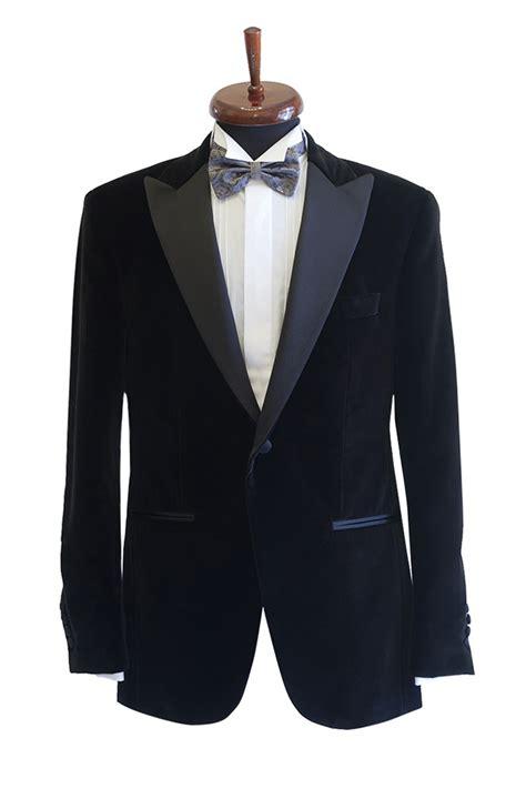 gentlemens corner black velvet dinner jacket formal wear