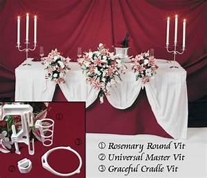 5 Wedding Flowers Bridal Bouquet Holder I Head Table