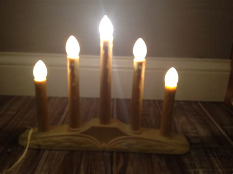 vintage electric window candles images