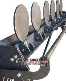 plate rack diy ar shooting targets survivaldiyweapons steel targets steel shooting