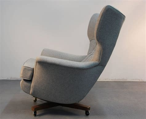 pair of g plan blofeld lounge chairs with matching