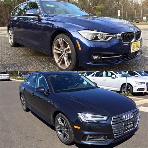 Bmw 328ix by Driving Comparison 2016 Bmw 328i Vs 2016 Audi A4