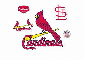 St Louis Cardinals Logo Wall Decal Shop Fathead® for St