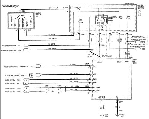 2006 Ford F 150 Fuel Wiring Diagram by 2006 Ford Radio Wiring Diagram Electrical Website Kanri Info