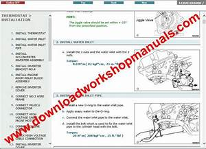 Lexus Rx 400 Service Repair Workshop Manual