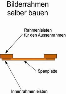 Bilderrahmen Selbst Bauen : bilderrahmen selber bauen anleitung ~ A.2002-acura-tl-radio.info Haus und Dekorationen
