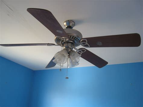 Picture 5 Of 5 Blue Ceiling Fan Fresh Grey Wall Paint