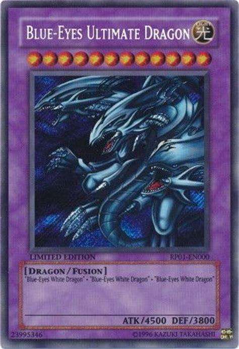 blue eyes ultimate dragon rp en secret rare