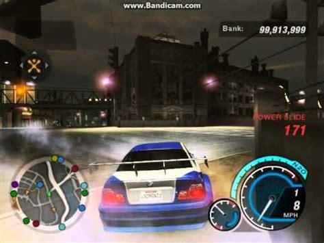 nfs underground  bmw  gtr gameplay youtube