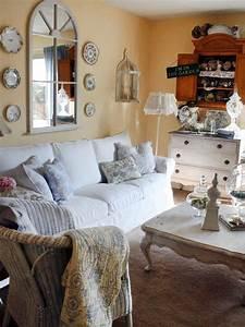 25, Shabby-chic, Style, Living, Room, Design, Ideas