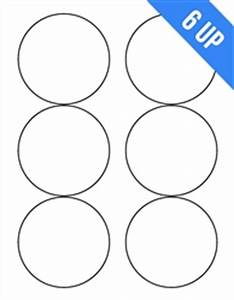 6up 333quot laser inkjet white circle round labels sticker With avery 5295 template